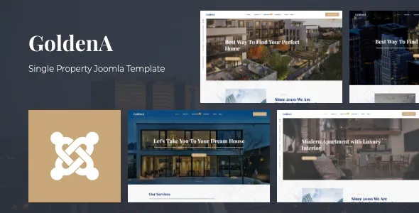 Best Single Property Joomla Template