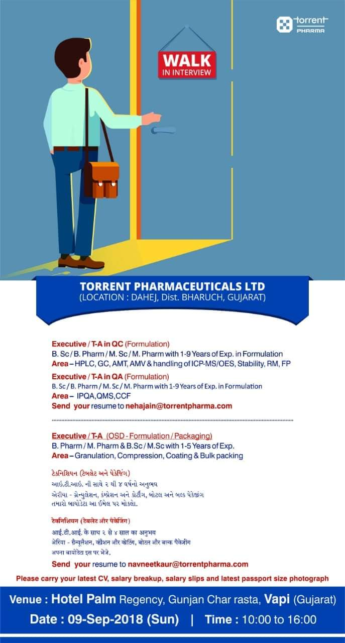 Ms Pharma Jobs