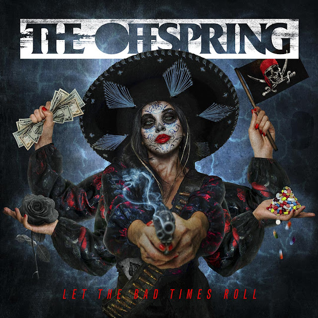 Cover Art from The Offspring Let The Bad Times Roll album from 2021