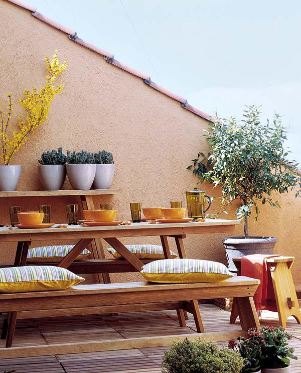 Decorar Casa Y Hogar 25 Ideas De Decoración De Terrazas
