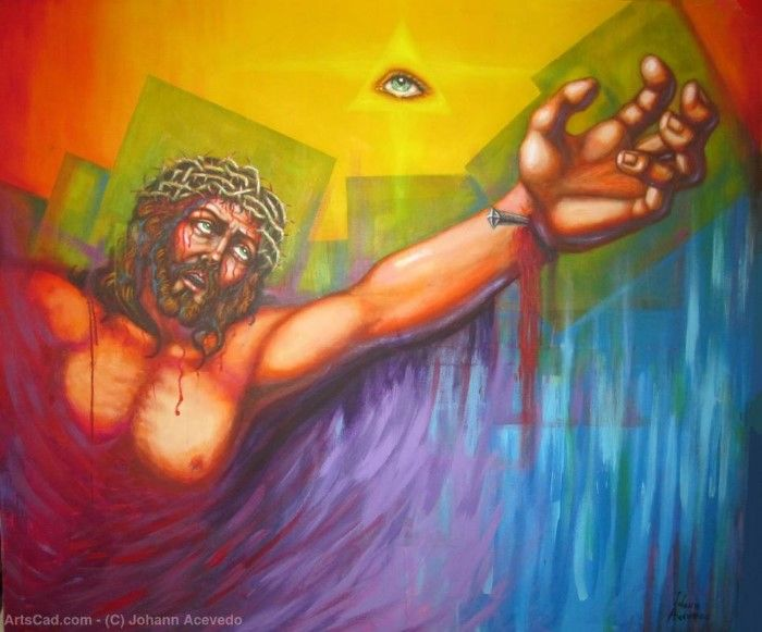 Пуэрторикканский художник. Johann Acevedo