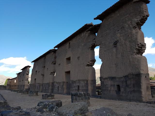 Templo de Wiracocha - Rota do Sol - Cusco a Puno - Peru
