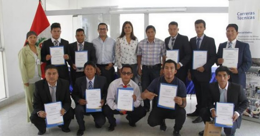PRONABEC: Becarios de Beca Técnico Productiva REPARED culminan con éxito estudios en CETEMIN - www.pronabec.gob.pe
