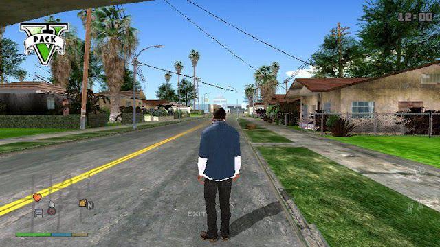 GTA V Graphics Pack For GTA San Andreas Best Mod 2021