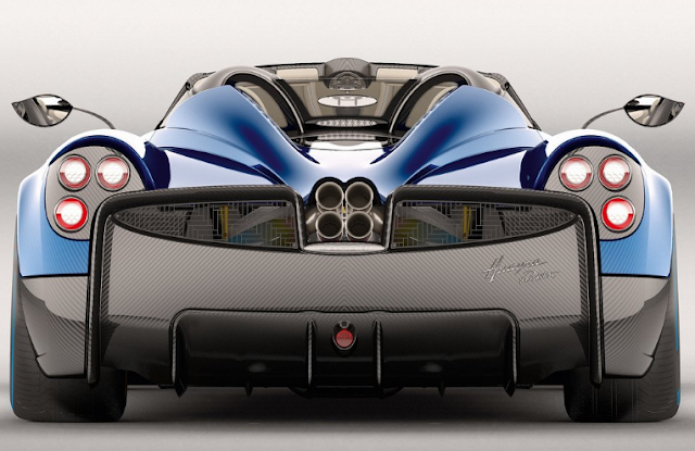 2018 Pagani Huayra Roadster Back View