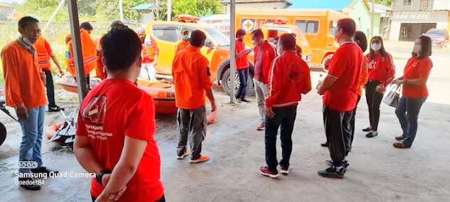 DPC PDI Perjuangan Bersama BPBD Melawi Gelar Sosialisasi dan Simulasi Penanganan Bencana