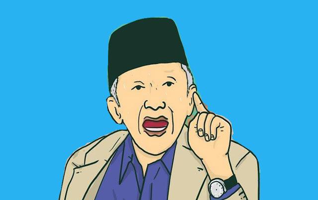 Amin Rais Glandangan Politik