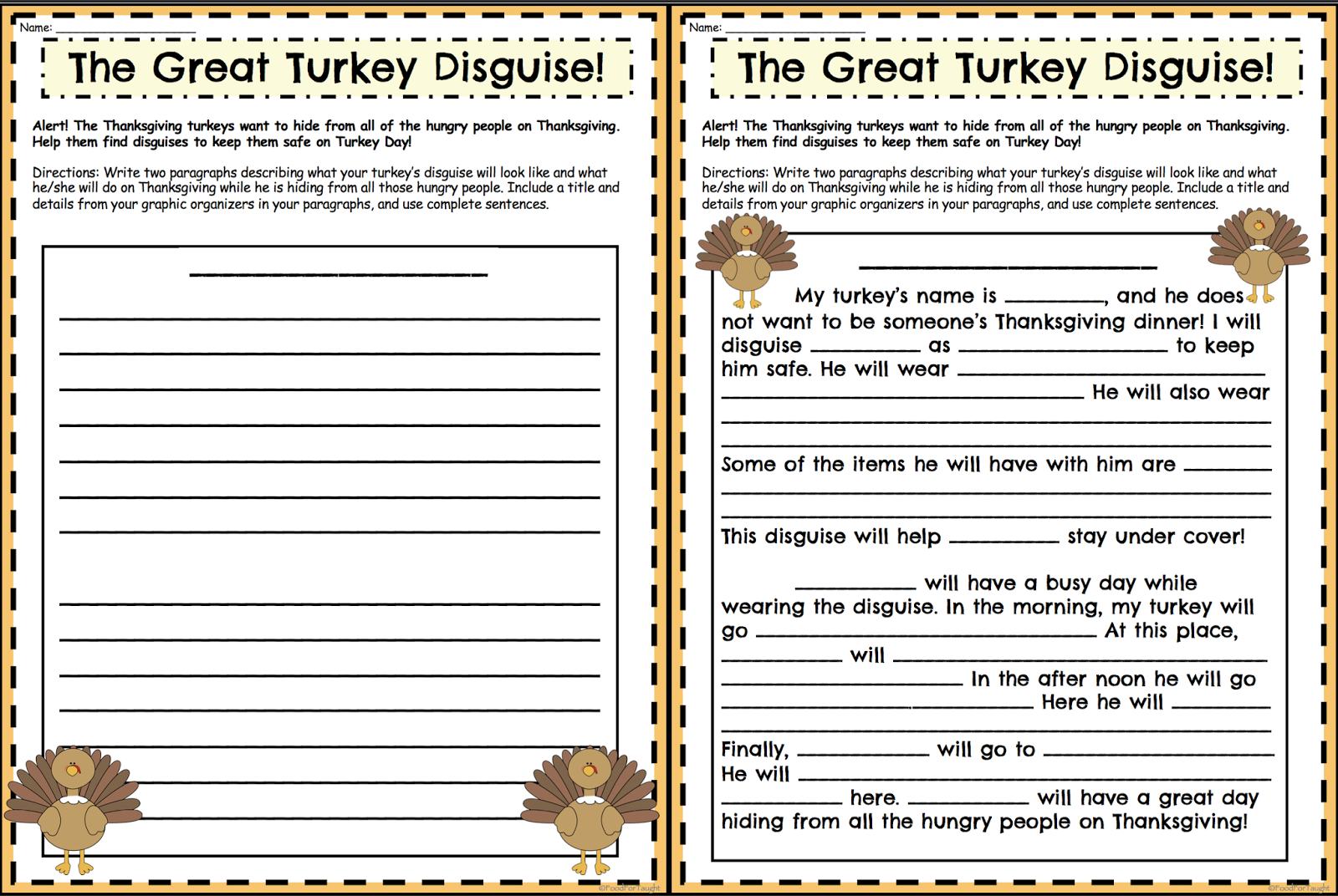 thanksgiving paragraph