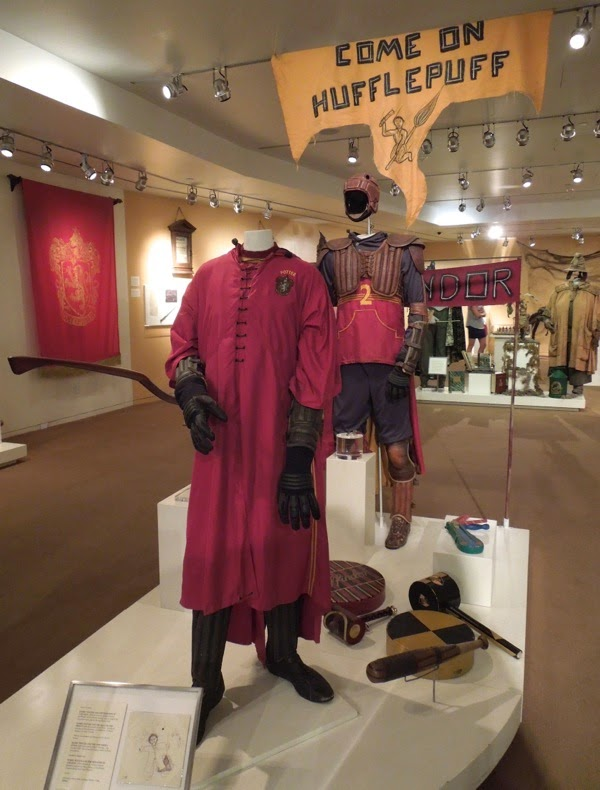 Harry Potter Quidditch movie costume prop exhibit