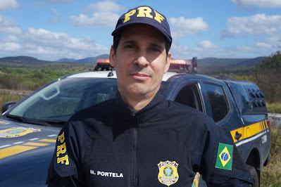 Inspetor M. Portela da Polícia Rodoviária Federal
