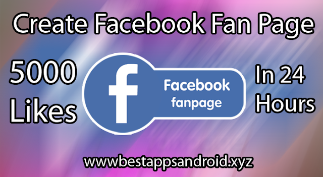 Create Facebook Fan Page With 5000 Likes In 24 Hours