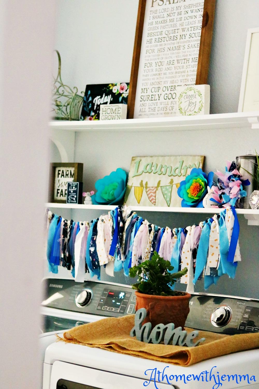 homemaking, laundry, room, organization, open shelving, athomewithjemma.com