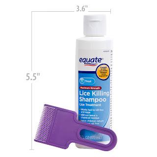 Dầu gội diệt chí cho bé Equate Lice Killing Shampoo hàng xách tay Mỹ