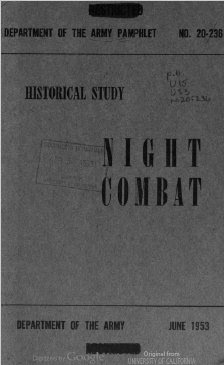 Night Combat, June 1953