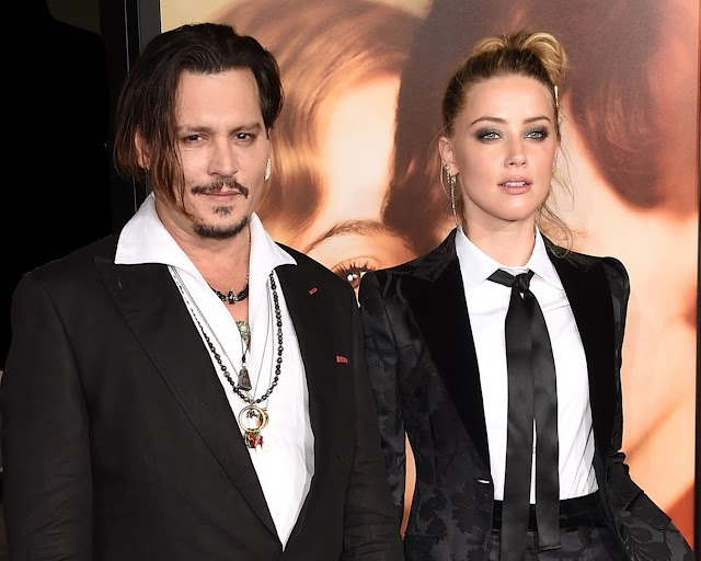 Se divorcia Johnny Depp de Amber Heard
