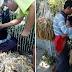 Isang lalaki nahilo sa Pagod dahil sa Paglalako ng Paninda Habang Karga ang Anak!