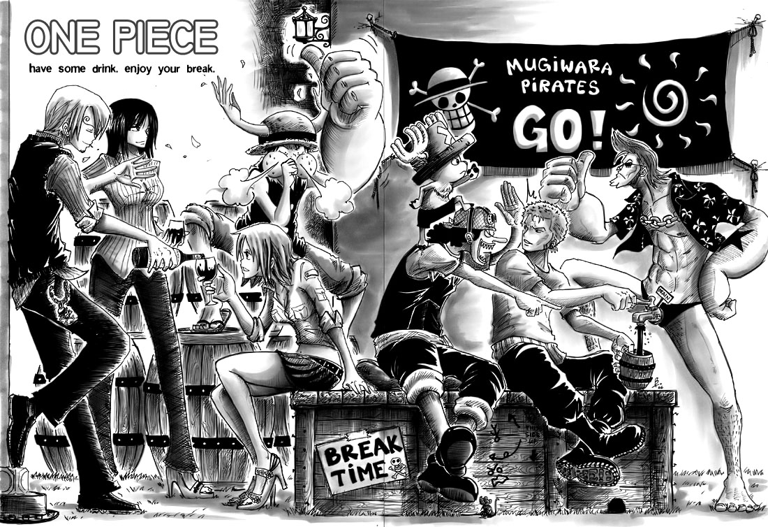 Wallpaper one piece black and white. Animes Wallpapers
