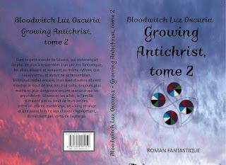 """Growing Antichrist, tome 2"", de Bloodwitch Luz Oscuria"