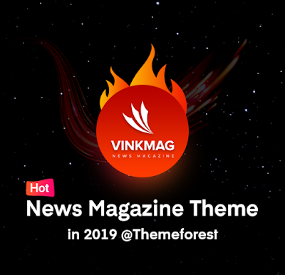 Vinkmag – Multi-concept Creative Newspaper News Magazine WordPress Theme