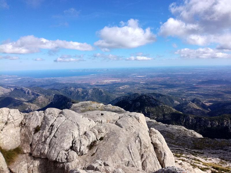 Foto: La Baia di Alcudia in lontananza