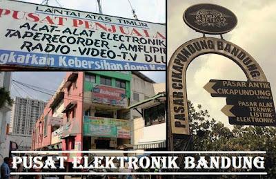pasar elektronik Bandung Jawa Barat