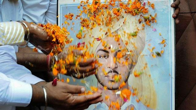 न्याय एवं एनकाउंटर, विद्रोह एवं शहीद भगत सिंह का उदाहरण