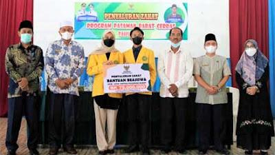 Baznas Pasbar Berikan Beasiswa untuk 50 Mahasiswa Yappas