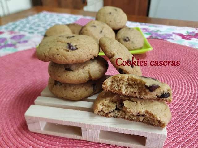 COOKIES DE CHOCOLATE.