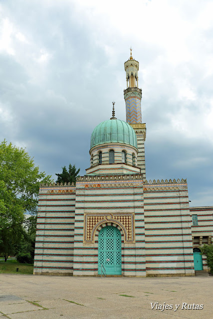 Dampfmaschienhaus, mezquita, Postdam