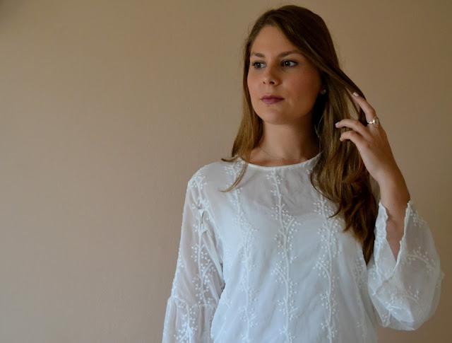 Unusual sleeves & lace blouse by Sammydress || Nietypowe rękawy i koronkowa bluzka z Sammydress
