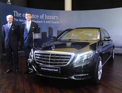 Mercedes, Mercedes-Benz, Maybach S 600 Guard, Mercedes-Maybach S 600 Guard price India