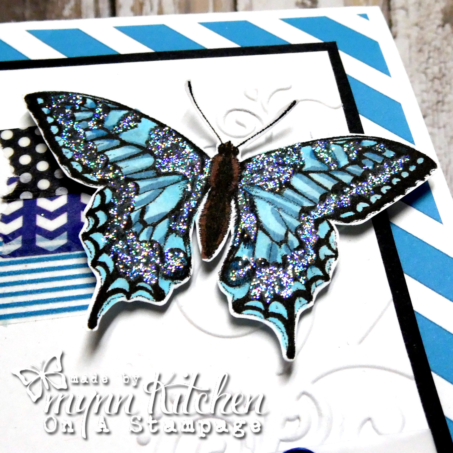 On A Stampage...: Seize the Birthday + MHKDesigns: Butterfly Birthday