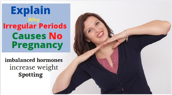 irregular periods with pregnancy
