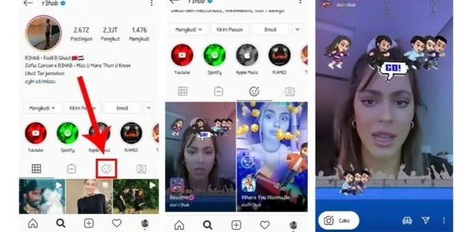 How to Search Filters from Instagram Account