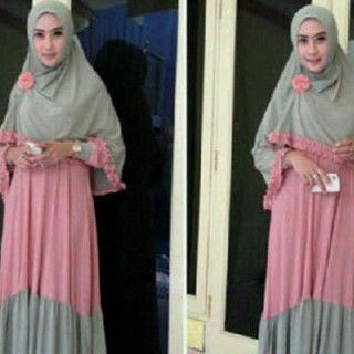 model baju muslim terbaru bahan jersey