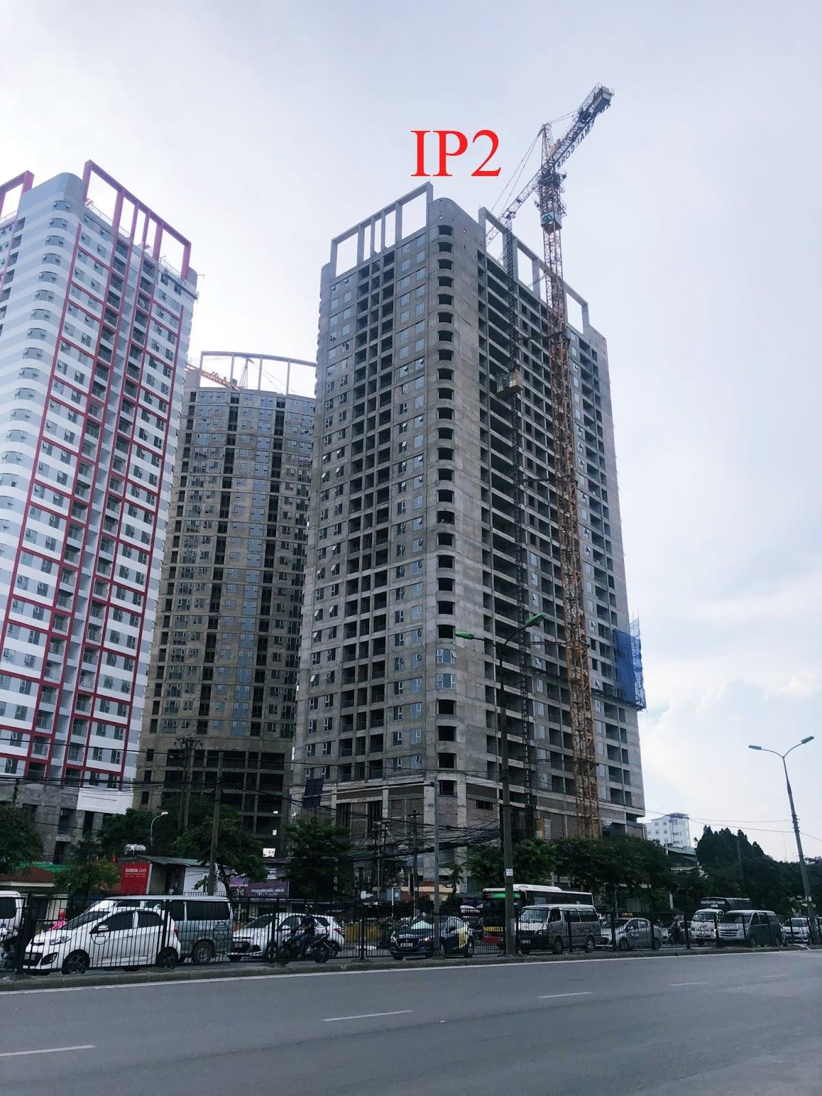 Tiến độ tháp IP2 dự án Imperial Plaza