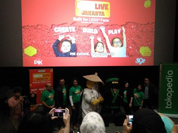 Brick Live  Semarakkan Liburan Anak Di Bulan Juni Mendatang