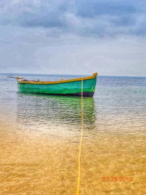 Fisherman boat rameswaram