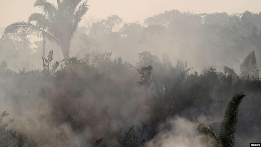 La selva del Amazonas arde desde hace 18 días, con incendios que han provocado una tragedia ecológica y de salud pública / REUTERS