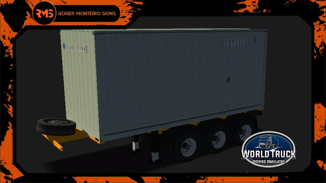 Porta Container 20, Skins Wtds, Skins Porta Container