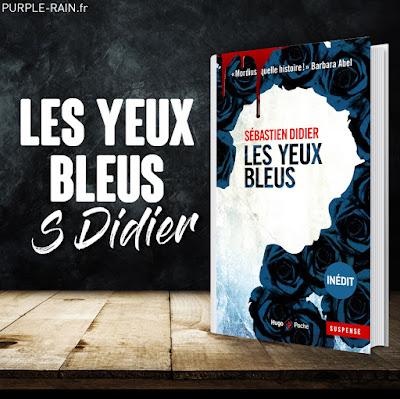 Livre : Les yeux bleus - Sébastien Didier Blog PurpleRain