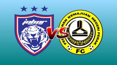 Live Streaming JDT vs PKNP FC Piala Malaysia 23.8.2019