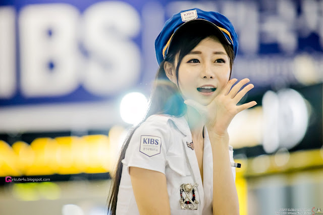 1 Choi Seul Ki 2016 Korea International Boat Show - very cute asian girl-girlcute4u.blogspot.com