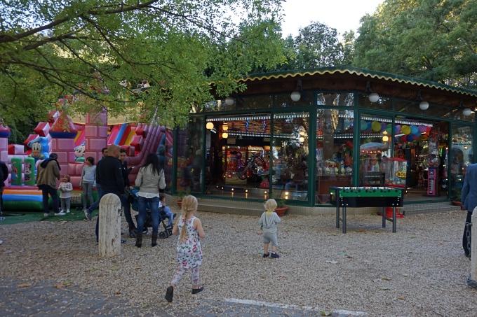 Kokemuksia Roomasta lasten kanssa - Gianicolo-kukkula leikkipuisto
