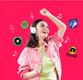 Paket Super 4G Musik