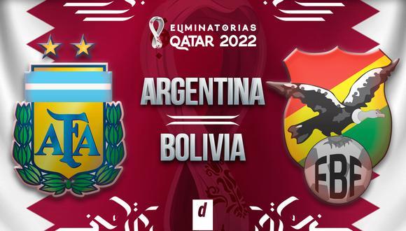 Argentina vs Bolivia EN VIVO: TV para ver gratis partido de Eliminatorias Qatar 2022
