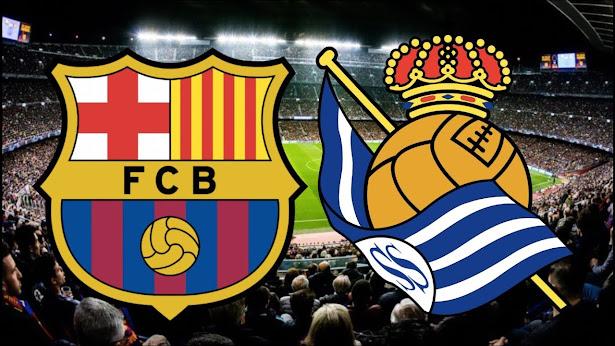 موعد والقناة الناقلة لمباراة برشلونة وريال سوسيداد اليوم في الدوري الإسباني