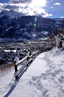 aosta neve foto paesaggio panorama matteo castello