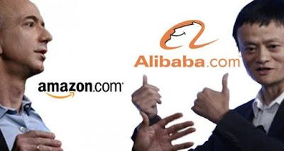Amazon và Alibaba
