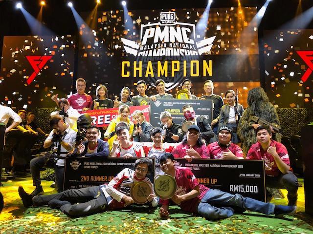 PUBG MOBILE National Championship (PMNC) 2018